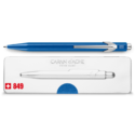 849 Metallic Blue Ballpoint Pen ( with Box )