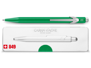 849 Metallic Green Ballpoint Pen ( with Box )