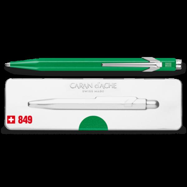 849 Metallic Green Ballpoint Pen ( with Box )