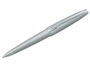 Apogee - Brushed Chrome Ballpoint Pen