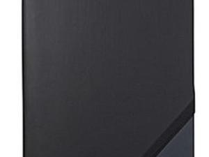 Black & Navy Blue Medium Jotzone Journal with Pen