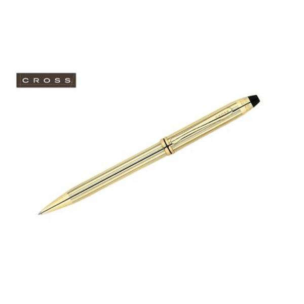 Townsend - 10 Carat Gold Filled/ Rolled Gold Ballpoint Pen