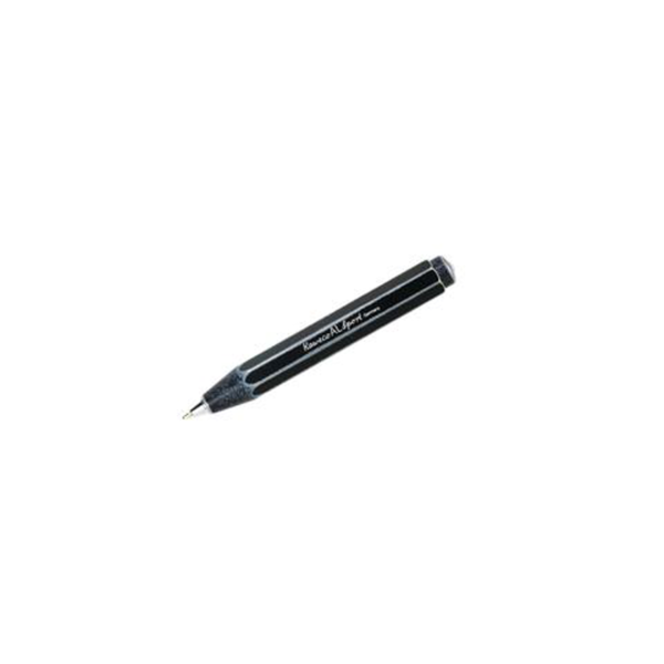 AL Sport Stonewashed Black Ballpoint Pen