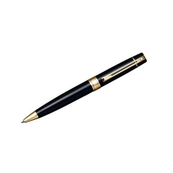 Gift Collection 300 Black Lacquer GT Ballpoint Pen