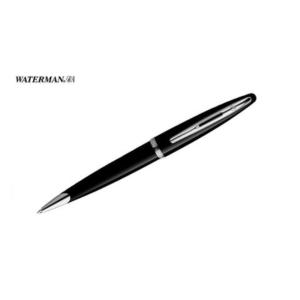 Carene Black Lacquer Chrome Trim Ballpoint Pen