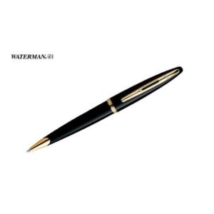 Carene Black Lacquer Gold Trim Ballpoint Pen