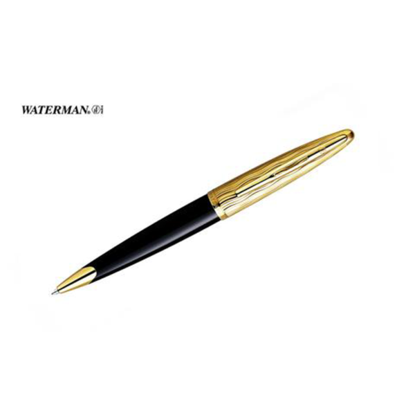 Carene Essential Black and Gold Ballpoint Pen