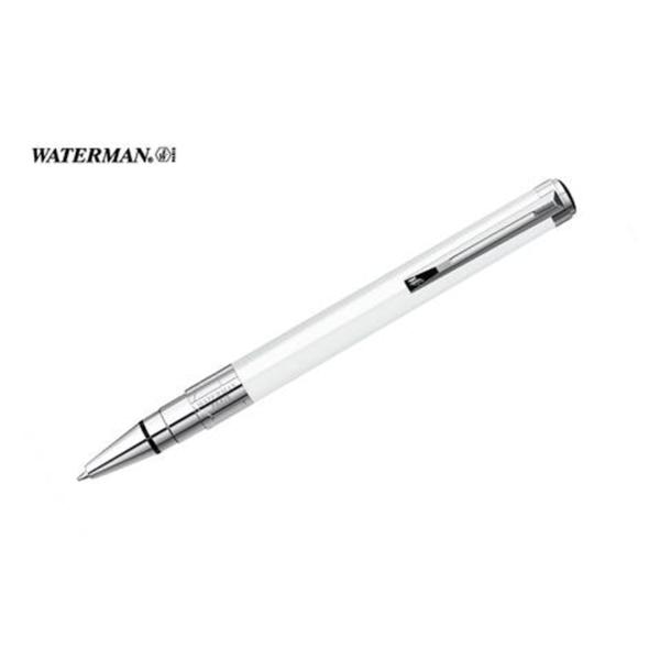 Perspective White Ballpoint Pen