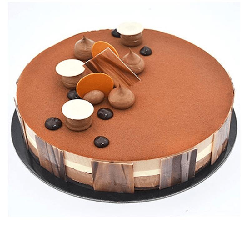 Rich Triple Chocolate Cake