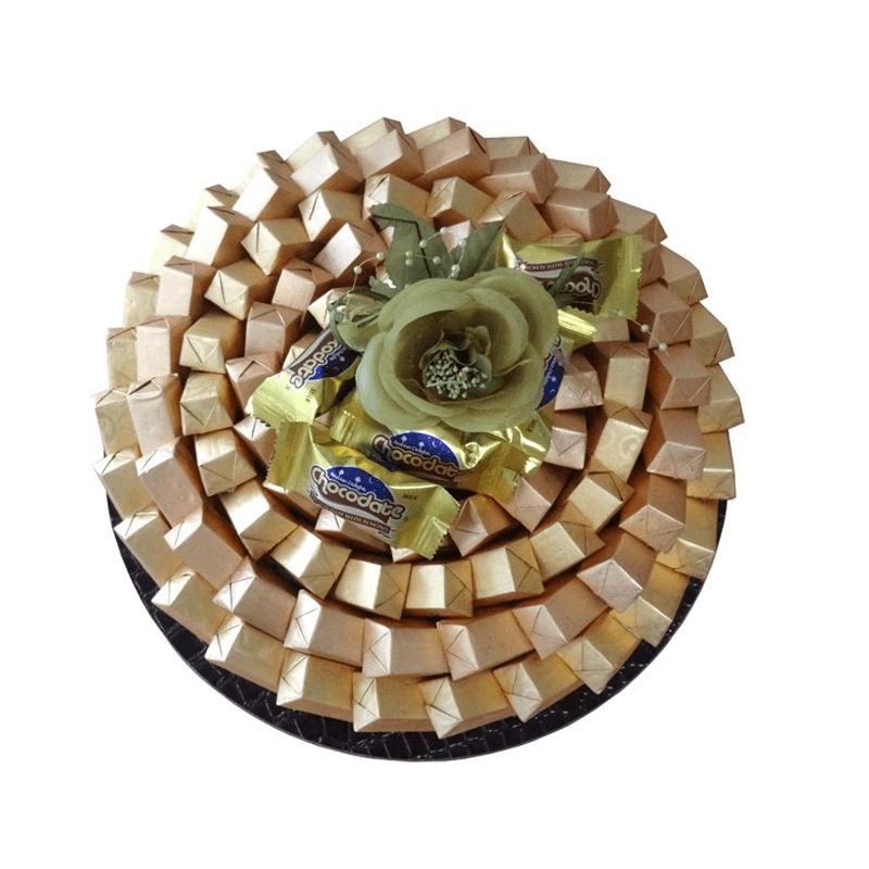 Golden Classic Chocolate Arrangement