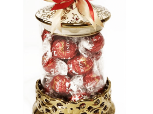 Gift Vase of Lindt Chocolates