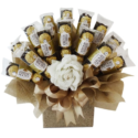 Golden Ferrero Rocher Classic Bouquet