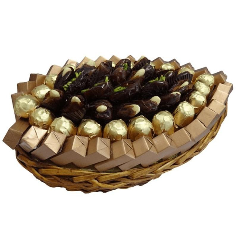 Date and Chocolate Arrangement