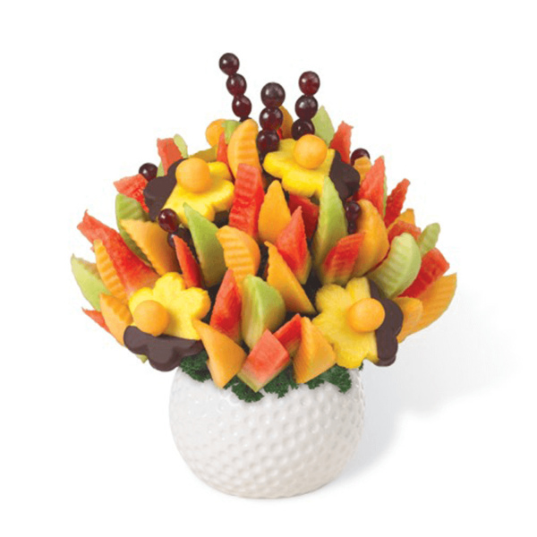 Melon Delight with Dipped Daisies