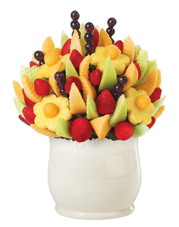 Delicious Fruit Design on White