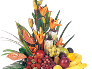 Cheerful Fruits and Flowers