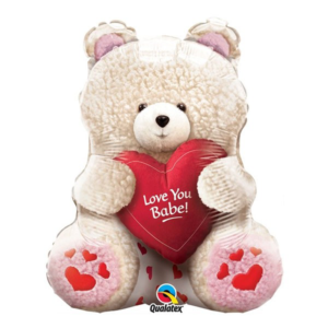 Love You Babe Teddy Foil