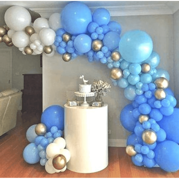 Oh Boy - Balloon Garland