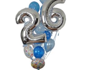 Any Age Birthday Balloon Arrangement