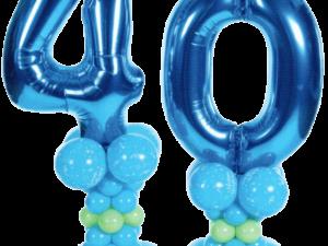 Any Age Birthday Balloon Decoration