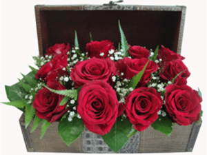 Treasure Chest of Roses