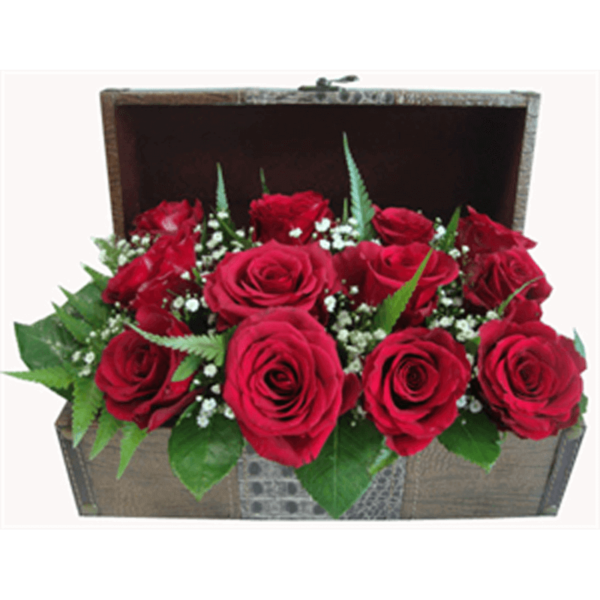 Treasure Chest of Roses