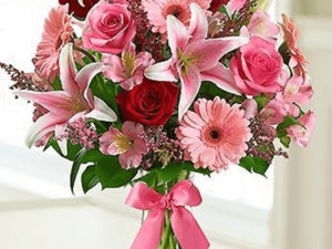 Romance Lilies and Roses