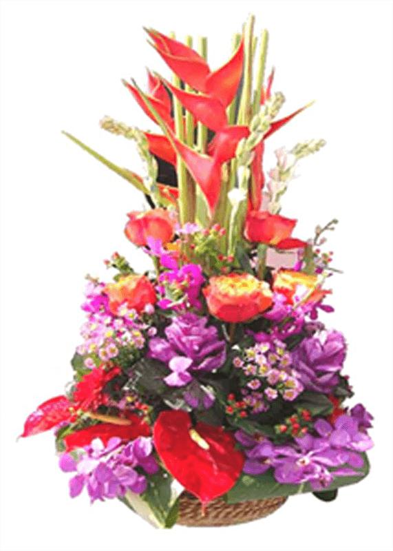 Exotic Flower Arrangement