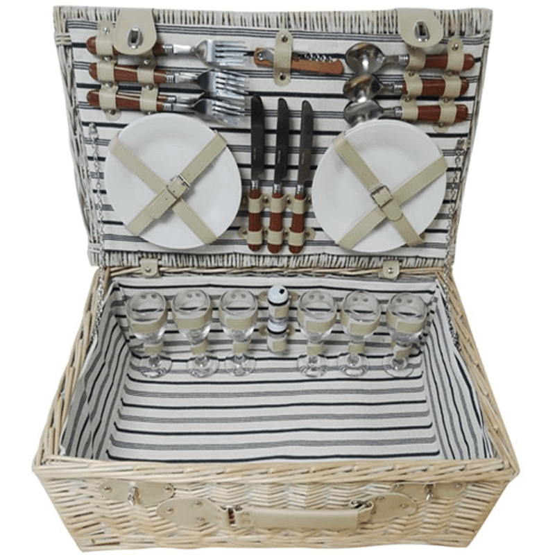 The Sandbanks Picnic Basket for Six
