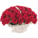Basket of Roses (50)