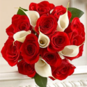 Romantic Roses and Lilies