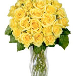 Yellow Sunshine Roses