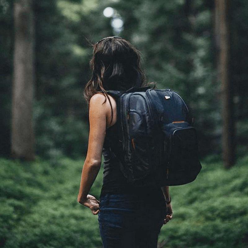 CASE LOGIC SLR Camera / Laptop Backpack BLACK