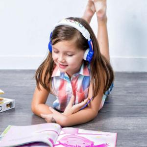 BUDDYPHONES InFlight Headphones Blue