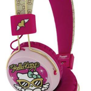 HELLO KITTY On Ear Folding Headphone - Couture Kitty