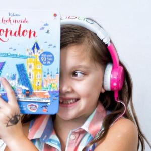 BUDDYPHONES InFlight Headphones Pink