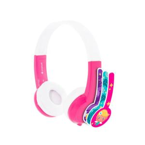 BUDDYPHONES Explore Headphones with Mic Pink