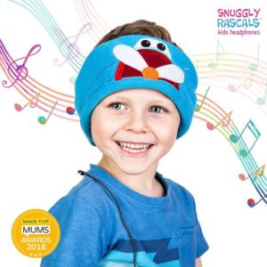 SNUGGLY RASCALS Ultra-Comfortable & Size Adjustable Headphones for Kids PLANE