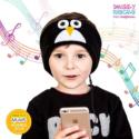 SNUGGLY RASCALS Ultra-Comfortable & Size Adjustable Headphones for Kids PENGUIN