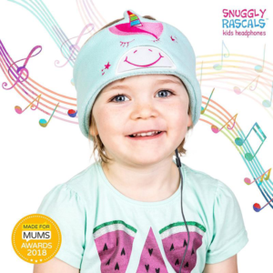 SNUGGLY RASCALS Ultra-Comfortable & Size Adjustable Headphones for Kids UNICORN