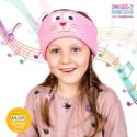 SNUGGLY RASCALS Ultra-Comfortable & Size Adjustable Headphones for Kids KITTEN