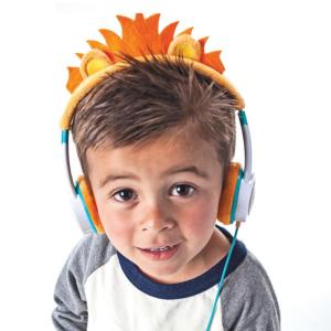 IFROGZ Little Rockers Costume Headphones Orange Lion