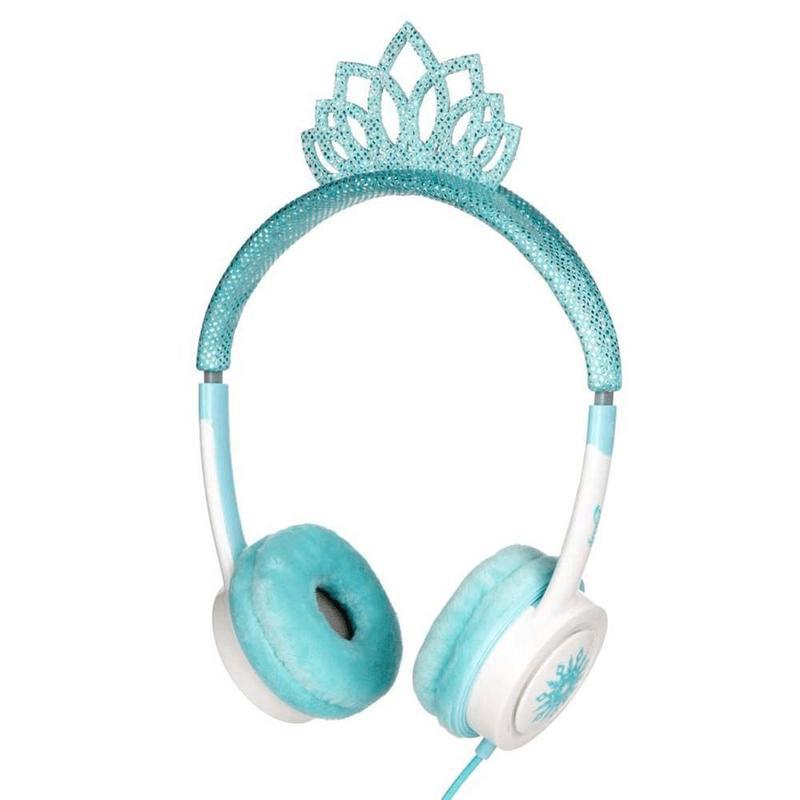 IFROGZ Little Rockers Costume Headphones Ice Princess Tiara
