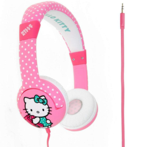 HELLO KITTY Apple Junior On Ear Headphone Dotty Kitty