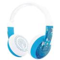 BUDDYPHONES Wave Bluetooth Headphones Waterproof Robot – Blue