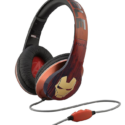 iHome Kiddesigns Over-Ear Headphone With Mic – Iron Man