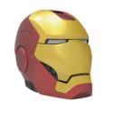 iHOME Kiddesigns Bluetooth Helmet Speaker Marvel Iron Man
