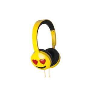 JAM AUDIO Jamoji Love Struck On-Ear Headphones Emoji Design