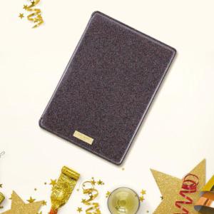 KATE SPADE NEW YORK Folio Hardcase for iPad Air 2 Black Glitter