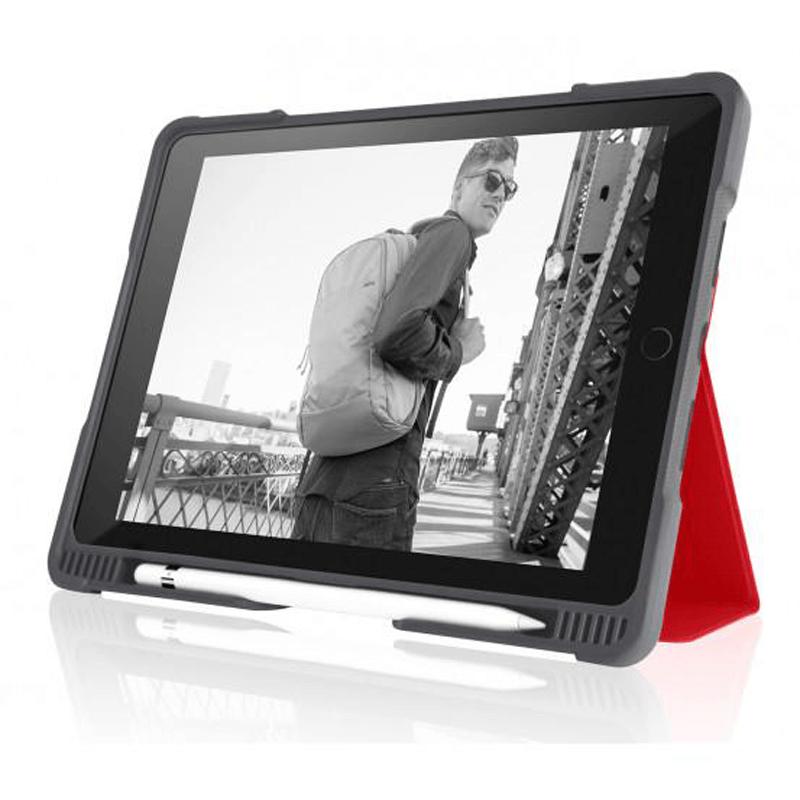 STM Dux Plus Case - 2016/ 2017 AP Red For iPad Pro 12.9
